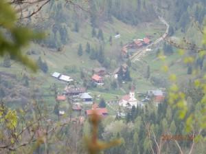 Pohľad na časť obce